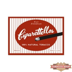 Пачка сигарет Nat Sherman Cigarettellos USA