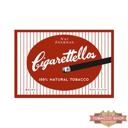 Пачка сигарет Nat Sherman Cigarettellos USA