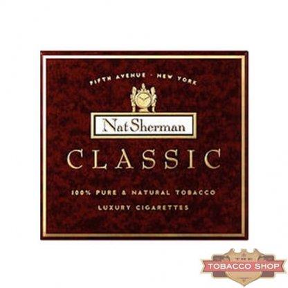 Пачка сигарет Nat Sherman Classic USA