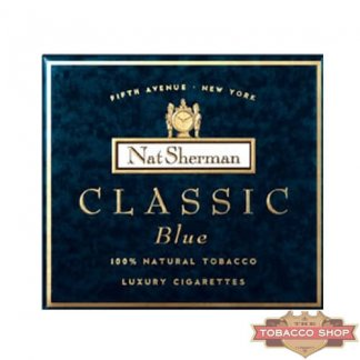 Пачка сигарет Nat Sherman Classic Blue USA (DUTY FREE)