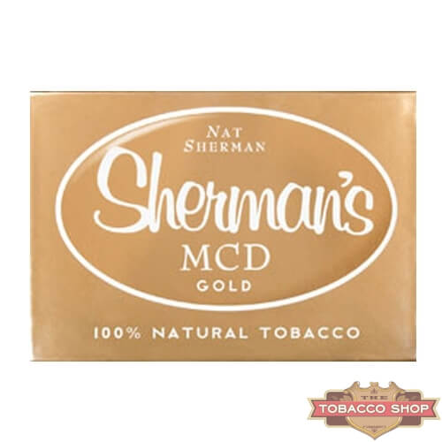 Пачка сигарет Nat Sherman MCD Gold USA