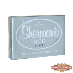 Пачка сигарет Nat Sherman MCD Silver USA
