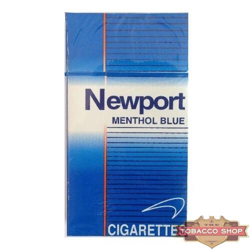 Пачка сигарет Newport Menthol Blue 100's USA
