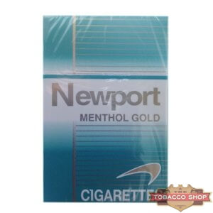 Пачка сигарет Newport Menthol Gold USA