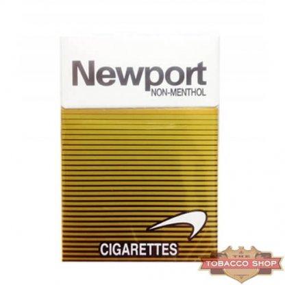 Пачка сигарет Newport Non-Menthol Gold USA