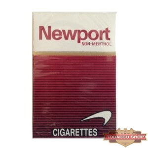 Пачка сигарет Newport Non-Menthol Red USA
