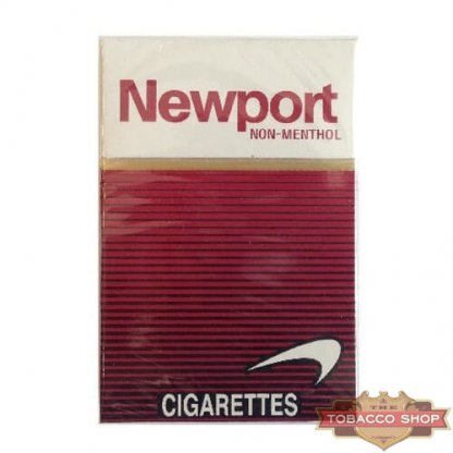 Пачка сигарет Newport Non-Menthol Red USA