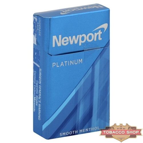 Пачка сигарет Newport Platinum Blue USA