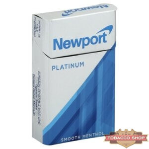 Пачка сигарет Newport Platinum Silver USA