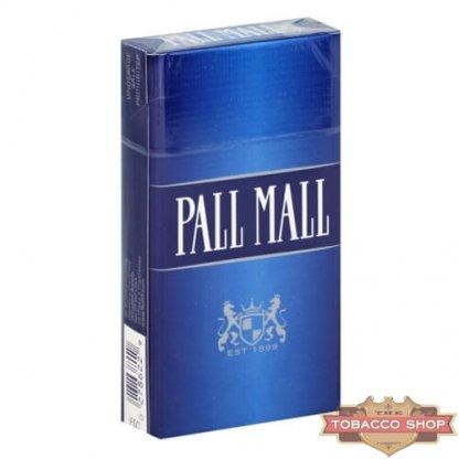 Пачка сигарет Pall Mall Blue 100's USA