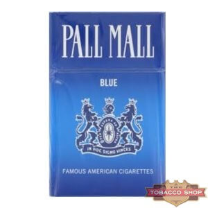 Пачка сигарет Pall Mall Blue USA