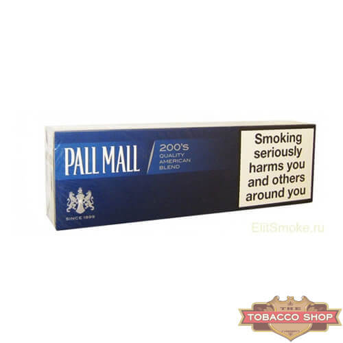 Блок сигарет Pall Mall Blue Duty Free