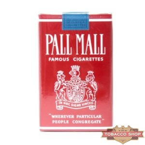 Пачка сигарет Pall Mall Famous Cigarettes Soft USA