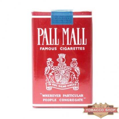 Пачка сигарет Pall Mall Famous Cigarettes Soft USA