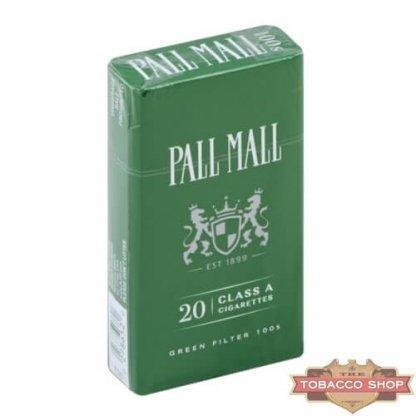 Пачка сигарет Pall Mall Menthol 100's USA