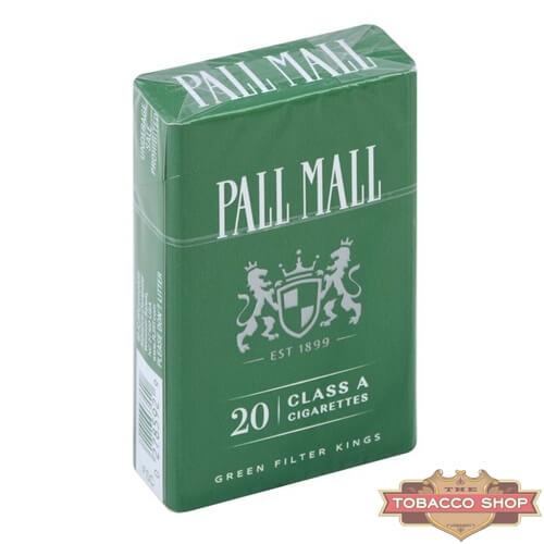 Пачка сигарет Pall Mall Menthol USA