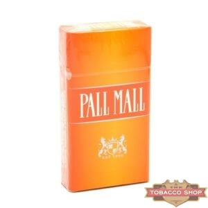 Пачка сигарет Pall Mall Orange 100's USA