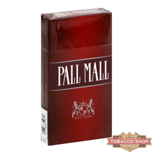 Пачка сигарет Pall Mall Red 100's USA