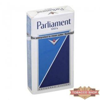 Пачка сигарет Parliament Lights 100's USA (DUTY FREE)