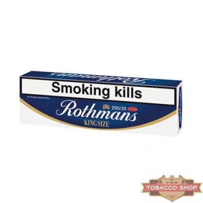 Блок сигарет Rothmans King Size (50 пачек) Duty Free