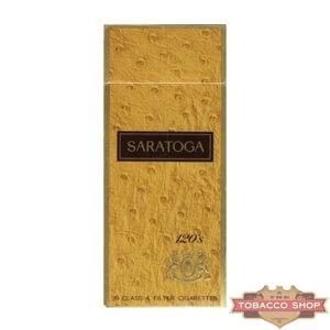 Пачка сигарет Saratoga 120s USA