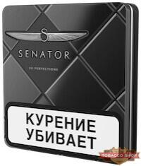 Пачка сигарет Senator Grand Virginia Metal