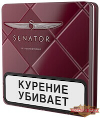 Пачка сигарет Senator Original Pipe Metal