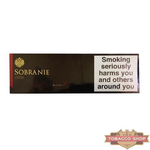 Блок сигарет Sobranie Black Duty Free