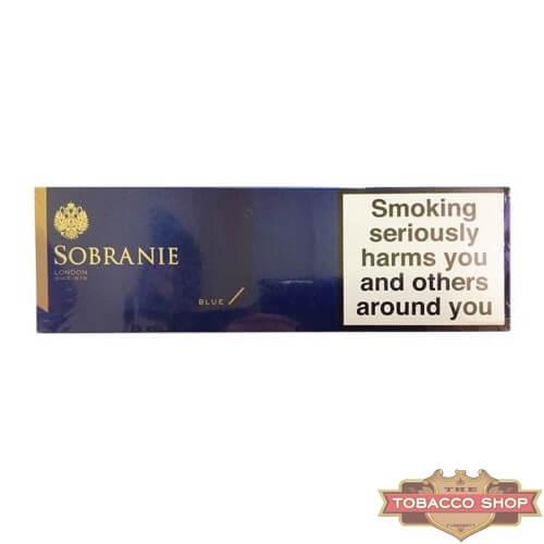 Блок сигарет Sobranie Blue Duty Free
