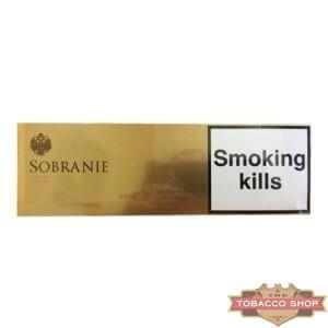 Блок сигарет Sobranie Gold Duty Free