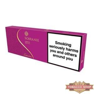 Блок сигарет Sobranie Superslims Pink Duty Free