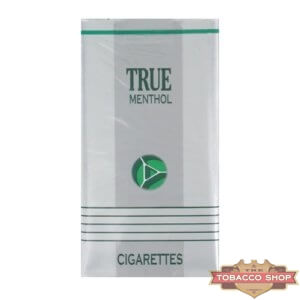 Пачка сигарет True Menthol 100's Soft USA