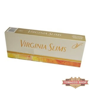 Блок сигарет Virginia Slims Gold 100's USA