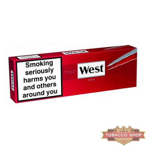 Блок сигарет West Red (50 пачек) Duty Free