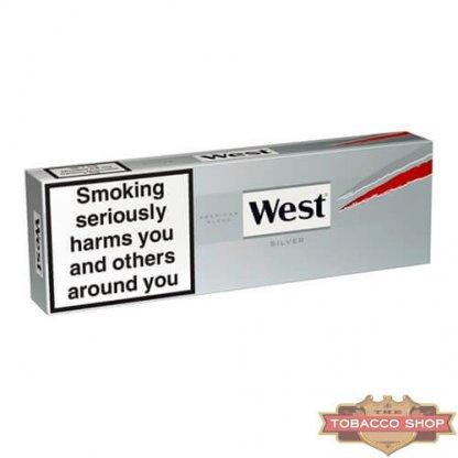 Блок сигарет West Silver (50 пачек) Duty Free