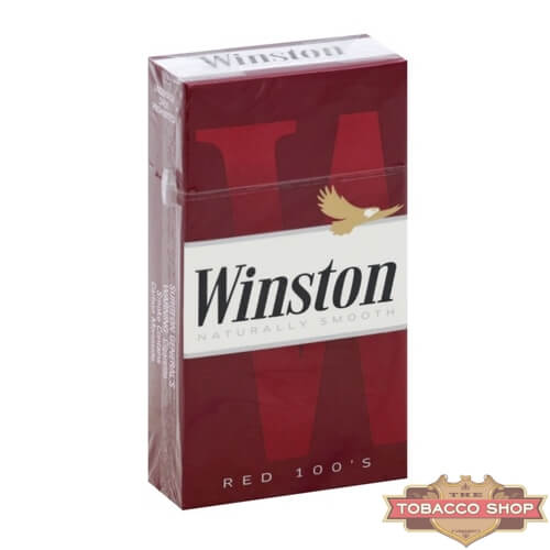 Пачка сигарет Winston Red 100s USA