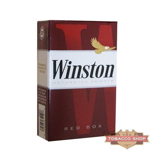 Пачка сигарет Winston Red USA