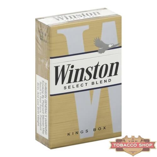 Пачка сигарет Winston Select USA
