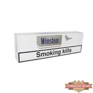 Блок сигарет Winston Silver Duty Free