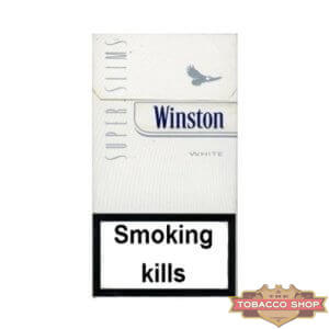 Пачка сигарет Winston SuperSlims White Duty Free