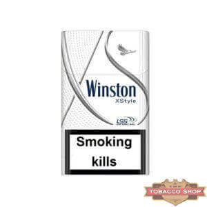 Пачка сигарет Winston XStyle Silver Duty Free
