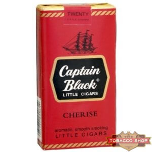 Пачка сигарилл Captain Black Cherise USA - старый дизайн