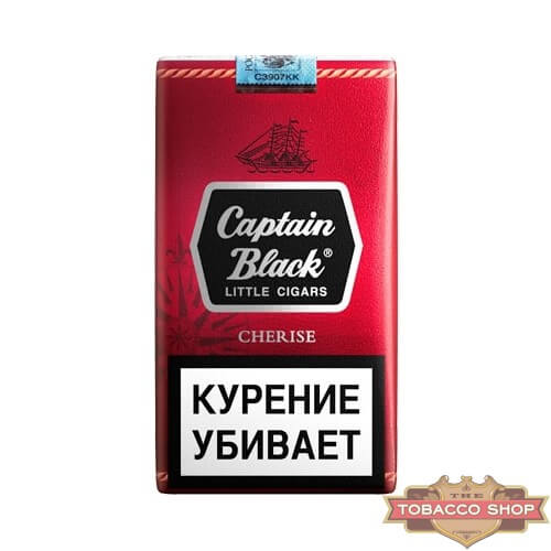 Пачка сигарилл Captain Black Cherise RUS