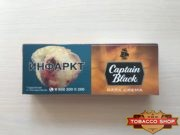Живое фото блока сигарилл Captain Black Dark Crema RUS