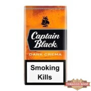 Пачка сигарилл Captain Black Dark Crema USA - новый дизайн
