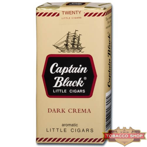 Пачка сигарилл Captain Black Dark Crema USA