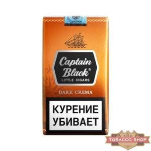 Пачка сигарилл Captain Black Dark Crema RUS