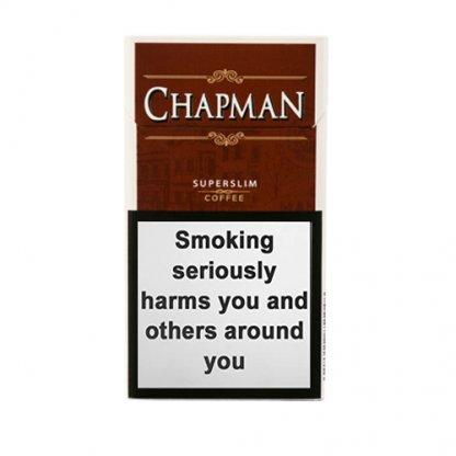 Пачка сигарилл Chapman Superslim Coffee Duty Free