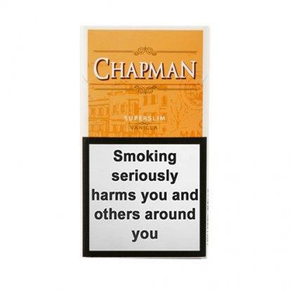Пачка сигарилл Chapman Superslim Vanilla Duty Free