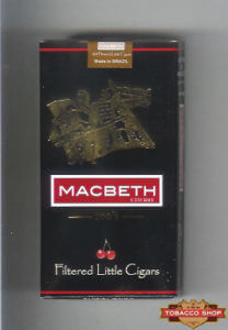 Пачка сигарилл Macbeth Cherry